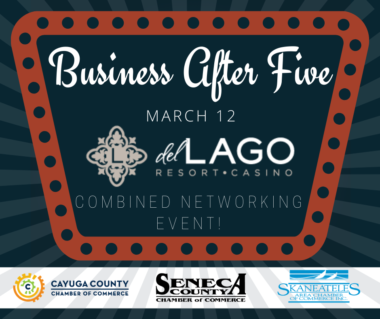 Business After Five, March 12, 2020, del Lago Resort and Casino