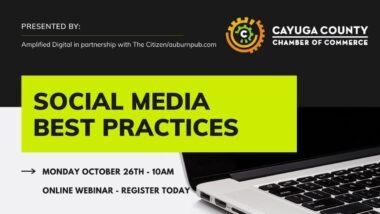 Social Media Best Practices Webinar Learning