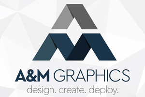 A and M Graphics Logo