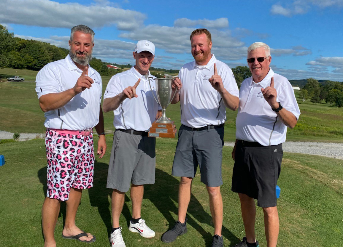 Coast Physical Therapy (Tony Gower, Michael Giltner, Tom Giltner, Dr. Chad Pens) was the winner of the 2020 Chamber Cup!