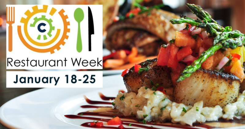 Restaurant Week 2020 is on January 18-25
